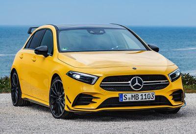 Mercedes-AMG A 35: выглядит как хот-хэтч, но это настоящий спорткар